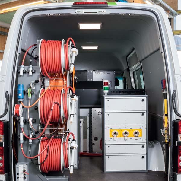Cable Test Vans