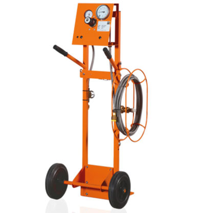 Dilo 3-001-R001 SF6 Gas Refilling Carts with Wire Braided Hose in Saudi Arabia