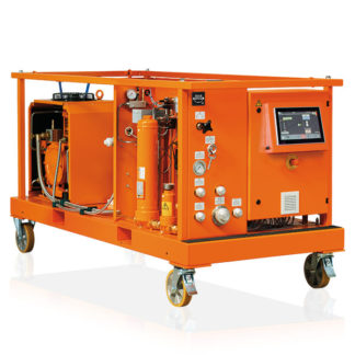 Dilo Mega Series L170R01 SF6 Gas Handling Service Carts for Large Gas Compartments - Saudi Arabia