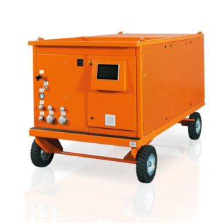 Dilo Mega Series L400R01 SF6 Gas Carts - Large Liquid Gas Storage - Saudi Arabia