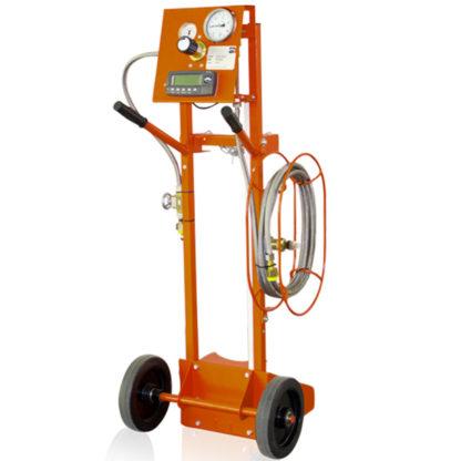 Dilo SF6 Gas Refilling Carts with Digital Scale in Saudi Arabia 3-001-R-021