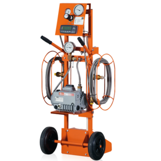 Dilo SF6 Gas Refilling and Evacuating Carts with Digital Scale in Saudi Arabia 3-001-4-R-022