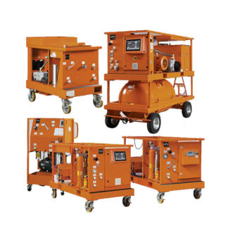 SF6 Gas Handling Service Carts
