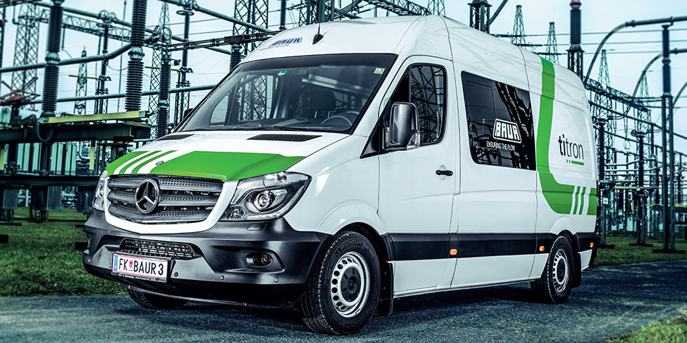 BAUR Titron Cable Test Vans Saudi Arabia