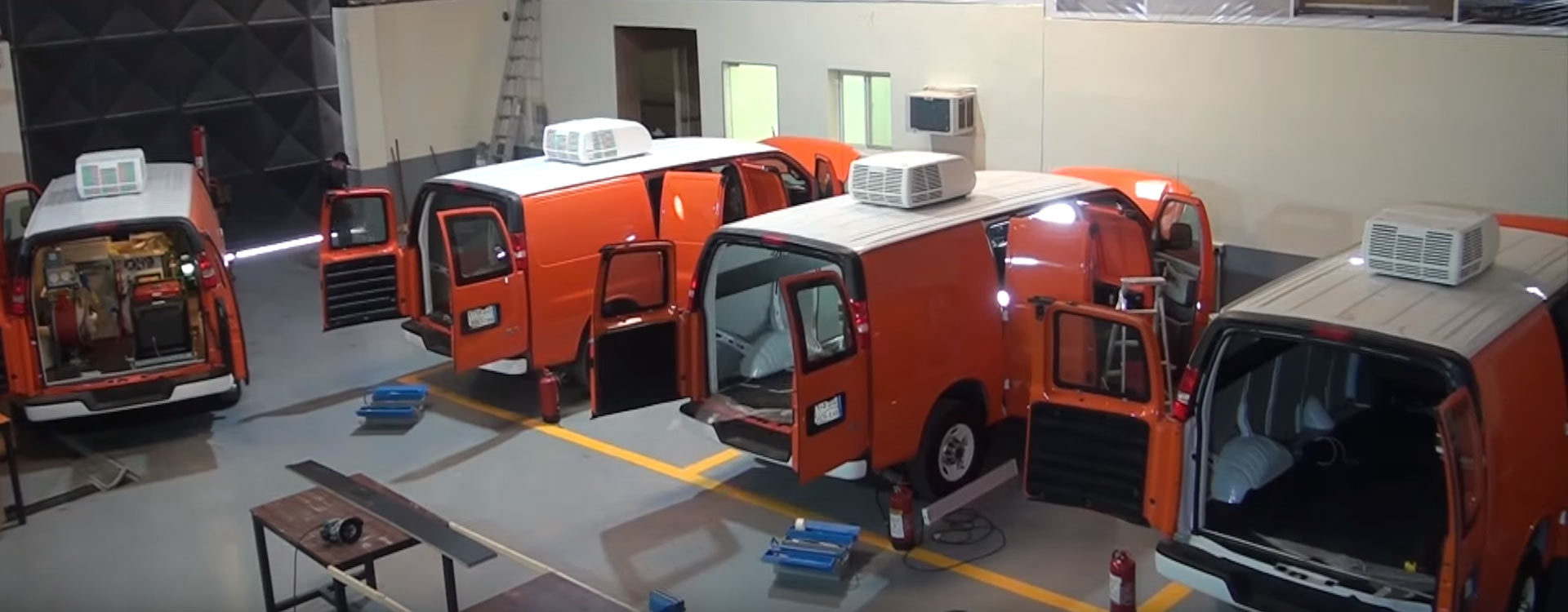 Cable Test Vans Equipping Services Saudi Arabia
